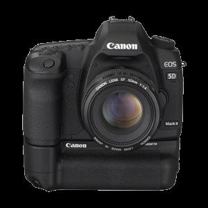 Canon EOS 5D Mark II mit BG-E6 und 50mm