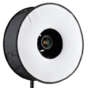 RoundFlash Magnetic Black Ringblitz-Diffuser Mobile Softbox 45cm
